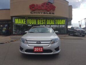 2012 Ford Fusion SEL LEATHER POWER ROOF SPOILER ALLOYS H-TED SEA