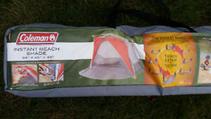 """COLEMAN POP-UP TENT WITH 50 UV GUARD 98"""" X 45"""" X 48 NEW $79.99"""
