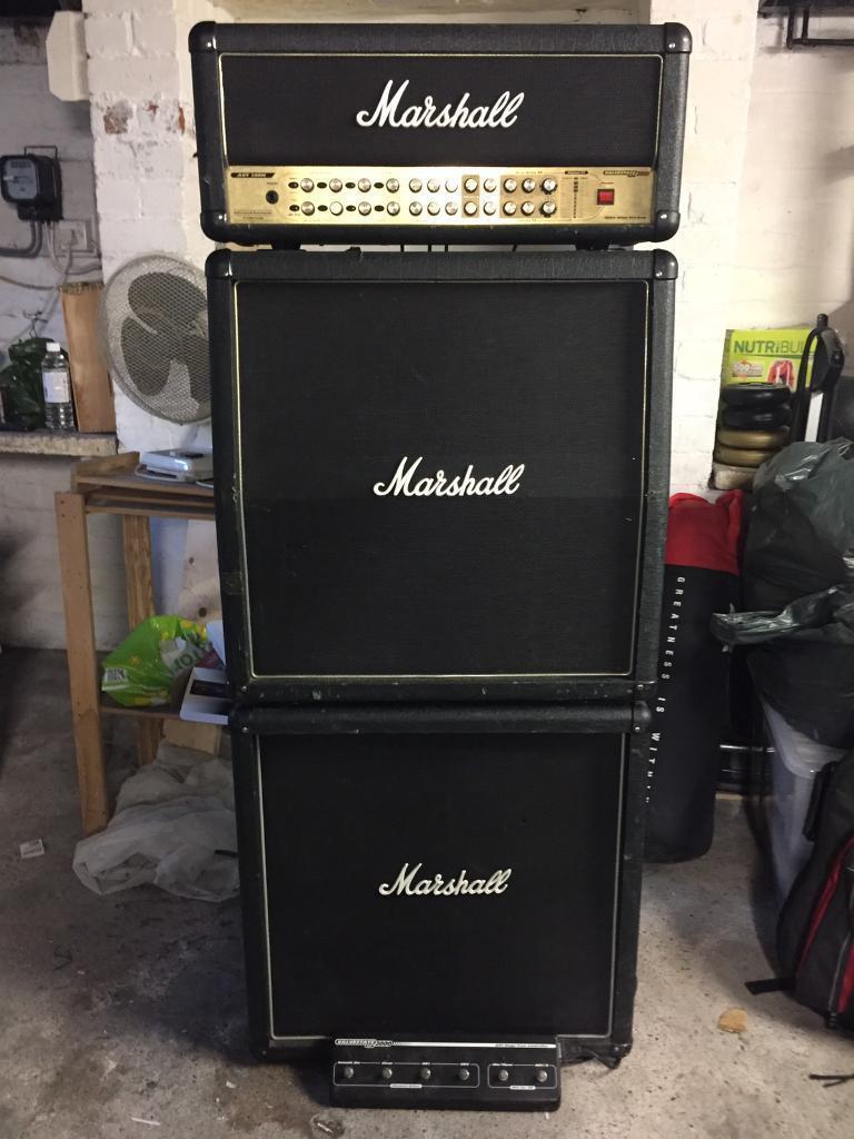 Marshall Amp Valvestate 2000 AVT 150H Full Stack