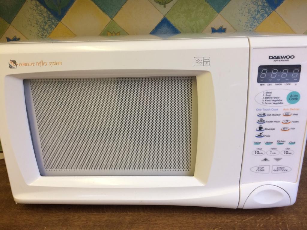 Daewoo microwave KOR-630A/WH | in Liverpool, Merseyside | Gumtree