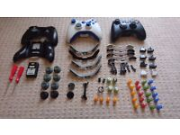 Xbox Controllers x2 + spare parts