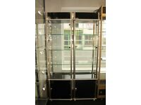 ROYAL DISPLAYS SQUARE DISPLAY CABINET