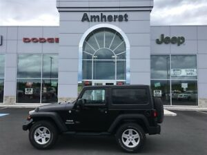 2014 Jeep Wrangler SPORT Hard Top, Manual