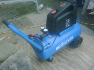 New MC Air Compressor + Senco Brad nailer & hose