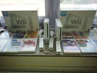Nintendo Wii console x2 plus loads of games all extras