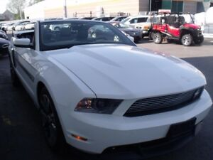2011 Ford Mustang GT-CS +CONVERTIBLE +MANUELLE  31414KM
