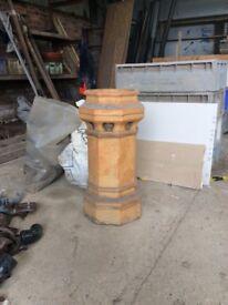 """Octagonal 30"""" Chimney Pot"""
