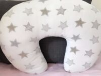 Baroo Beige Stars Nursing Pillow