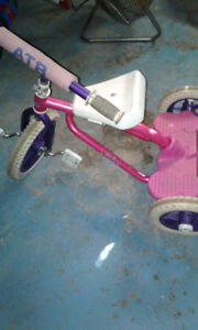 girls tricycle
