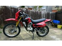 Enduro Lifan 125cc on off road legal