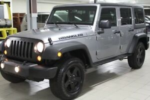 2016 Jeep WRANGLER UNLIMITED SPORT 4X4 *2 TOITS/BLUETOOTH/DEMARR