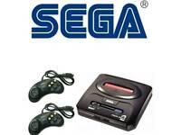 Sega megadrive 2 over 100 inbuilt games delivery included