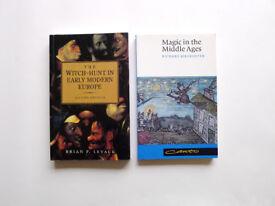 Set WITCHCRAFT MAGIC Paperback Study Degree Undergraduate Books