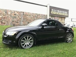 2009 Audi TT PREMIUM PKG. POWER CONVERTIBLE ROOF.BLUETOOTH.REVE
