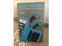 Bluetooth Earphones / Armband bundle