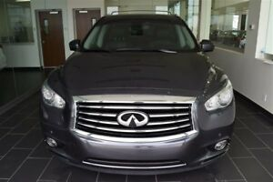 2013 Infiniti JX35 CVT Fully Equipped Rear Dvds,Collision Avoida