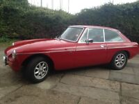 Mgb gt 1979 for sale