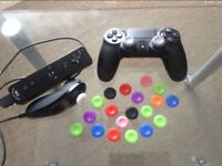 x2 Pairs of Controller Grips (PS4 - XBOX ONE & 360 - Wii U )