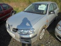 Nissan Almera 1.5 S, LOW MILES (silver) 2001