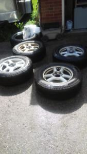 Almost New Tires on Gmc Envoy Rims