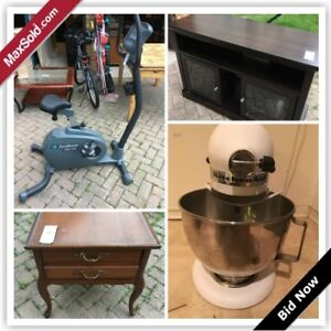 Toronto Downsizing Online Auction - Armour Boulevard(July 28)