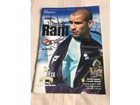 Signed Derby County Programme from Sat 27th April 2002 Derby v Leeds