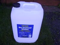 25lts water containers ideal for Caravan or Camping