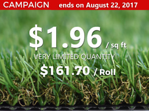 DECCOREX- Artificial Turf Grass $1.96 Campaign Ends On 22 August