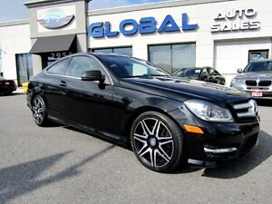 2013 Mercedes-Benz C350 C350 Coupe 4MATIC