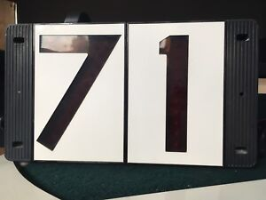 Light-Up House Numbers