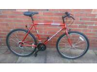 Adults Universal mountain bike 21 inch frame, only used few times Good condition and ready to ride