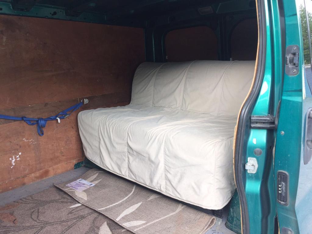 Ikea Lycksele Sofa Bed Ideal Camper Van