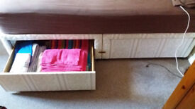 4 Drawer Myers Divan Double Bed Frame