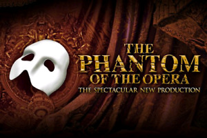 2 tickets to phantom of the opera