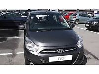 HYUNDAI i10 2012 53,000 MILES 1.2 PETROL 5 DOOR HATCHBACK MANUAL grey one owner from New.