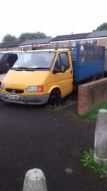 Ford transit dropside not tipper