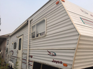 1998 jayco eagle bunk 5th wheel with slide