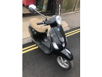 2012 Piaggio Vespa LX 125 lx125 in Black great condition