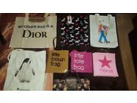 Collection of shopping bags