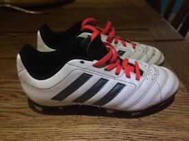 Adidas kids size 1 football boots