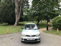 2001 Nissan Micra 1.0 16v S 5 Door Hatchback