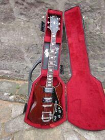 gibson sg deluxe rare vintage 1970/71 guitar