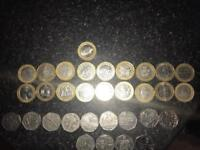 £2 £1 50p small collection of coins