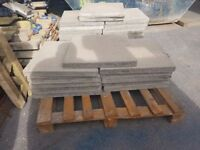 600 x 600 x 50mm concrete paving slabs second hand. £2.00 per slab. ( collection only)
