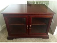 TV Cabinet (solid mahogany wood)