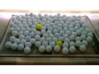 100 used golf balls (various brands)