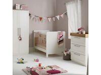Mamas and Papas Rialto White Bedroom Furniture