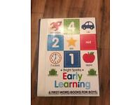 Early learning first word books