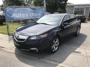 ACURA TL SH-AWD TECH PACKAGE 2012 **81$/SEM.**CUIR**GPS**CAMERA*