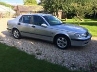 Saab 9-5 2.0 Turbo Auto Very Low Mileage 18 Service stamps Stunning Condition Fantastic Value !!